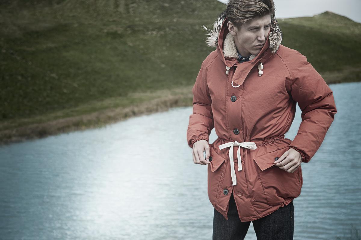 Мужская куртка-парка зимняя Nigel Cabourn Everest Parka