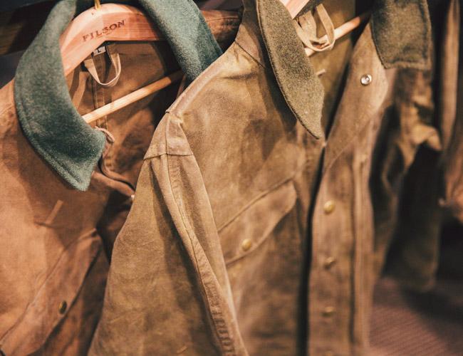 Просушка куртки после обработки воском