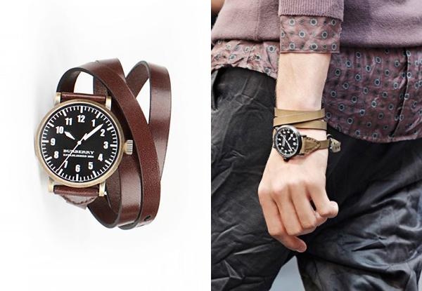 Часы: носим правильно.