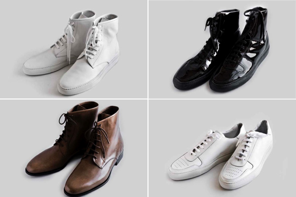 Обувь марки COMMON PROJECTS
