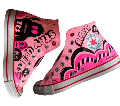 Product RED Converse by Jeremyville