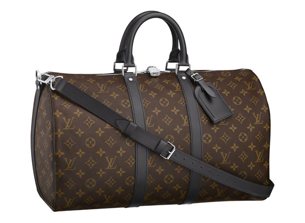 Мужская сумка Louis Vuitton Monogram Macassar Keepall 45