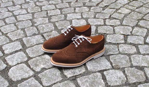 Замшевые туфли Mark McNairy Country Brogue для Très Bien Shop