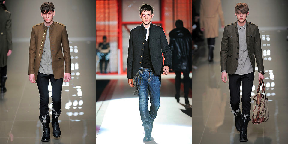 Куртка в стиле милитари LA REDOUTE CREATION.